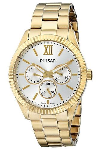 reloj pulsar business collection acero inox mujer pp6140