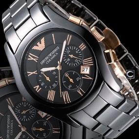 2a3f3e9fadb3 Reloj Armani De Ceramica Cuadrado - Reloj para Hombre en Mercado ...