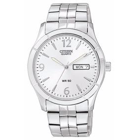 9870921ca4fe Reloj Citizen Plateado Acero Inoxidable Hombre Bk3830-51a