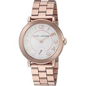 32706d04cc5d Reloj Marc Jacobs Mbm3268 Rose Gold Nuevo Envío Gratis Mujer - Reloj ...