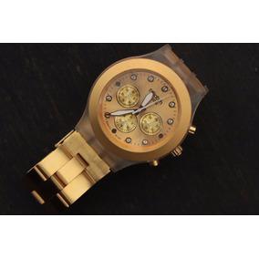 En Mercado Libre Dorado Reloj México Swatch Full Blooded QsrCxBtdoh