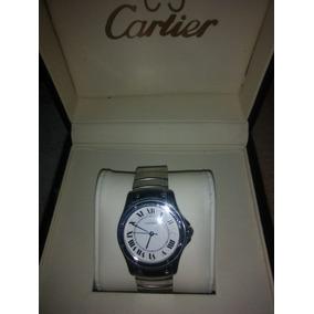 9e77cae8ec45 Reloj Cartier Para Dama Modelo Tank Francaise.-120641952. Usado · Boleta De  Empeño Monte De Piedad De Reloj Cartier Ronde