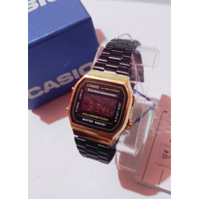 9ef5393e6598 Reloj Casio A168 Dorado - Reloj de Pulsera en Mercado Libre México