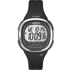4f46c6ec3941 Reloj Timex Ironman Tw5m19600 Digital Negro Para Dama