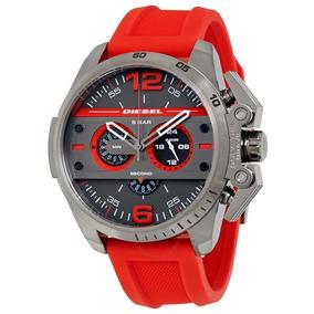 7947a9fa777d Reloj Diesel Rojo Dz4388 - Joyas y Relojes en Mercado Libre México