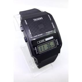 aee1e1e510c7 Reloj Talking Parlante Voz En Español Habla Envío Gratis