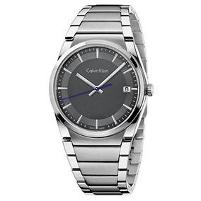 Elegante Calvin Op4 De Reloj Klein Extensible Caucho Cuarzo OZPXikwuTl