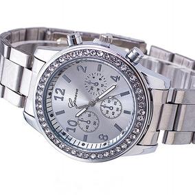 490d507bad09 Reloj Visage Dama Fashion Acero Hombre - Reloj de Pulsera en Mercado ...