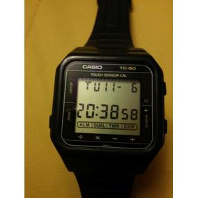 3c88a305186e Reloj De Puslera Vintage Casio Tc-50 Touch Sensor Cal