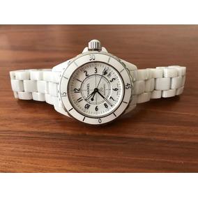 f16fd9e8c251 Reloj Chanel J12 En Autentica Ceramica Genuina Color Blanco - Reloj ...