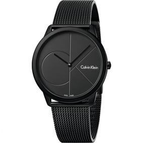 85f8a8a90938 Calvin Klein Minimal K3m211c4 Reloj Unisex Color Negro - Relojes en ...