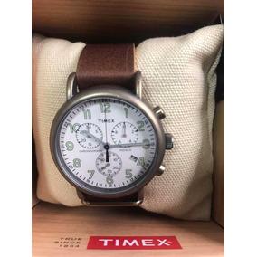 5a93dc41fd70 Reloj Timex T2m551 Tachymeter Chronograph Indiglo Wr100 Bbf - Reloj ...