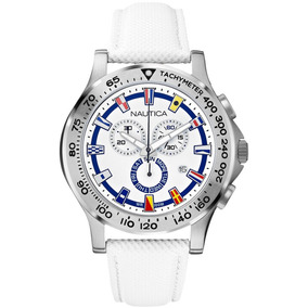db1cc7f19883 Reloj Nautica Banderas Cronografo Azul  3012 - Relojes en Mercado ...