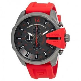 4a8d4fed4c96 Reloj Diesel Dz 1351 Rojo - Joyas y Relojes en Mercado Libre México
