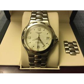 3daaf57d4bbf Relojes Extra Planos Para Caballero - Reloj Longines en Mercado ...