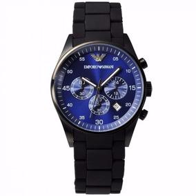 7b4216b2e69d Reloj Emporio Armani Blue Chronograph Ar5921 Envío Gratis