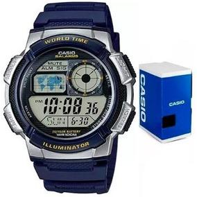 269bda02487d Bonito Reloj Casio Azul Deportivo Barato!! Solo  450 +sorpre en ...