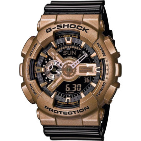 d7c2c0e882f01 Reloj G Shock Ga110 Black Negative Resistencia Magnetica - Relojes ...