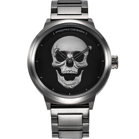 964728a60a52 Pagani Skull Punk Cráneo Acero Diego Vez por Diego Vez - The Watch Boutique