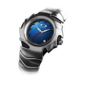 dad7d1b64970 Reloj Oakley Blade Bracelet Edition Blue Face Toys4boys