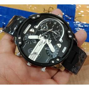 ec0196b42e1f Reloj Diesel Hombre Silicon Negro Dz 4211 Oversized Mn4 - Reloj para ...
