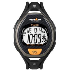 7db477e19429 Reloj Timex Ironman Negro Dorado en Mercado Libre México