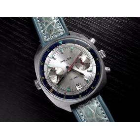e472412dcd66 Reloj De Piloto Militar Ruso Poljot Cronografo Mecanico 3133