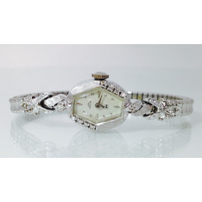83281a9dbffc Reloj Hamilton Lady Para Dama De Oro Blanco De 14k Caja De A ...