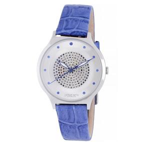 f5f7fcdca28 Reloj Johan Eric Orstead Piel Azul Mujer Je1600-04-001.11