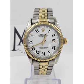 a8c661bdb7e4 Reloj Rolex Oyster Datejust 1601 Numeros Romanos Sub Oro Amx