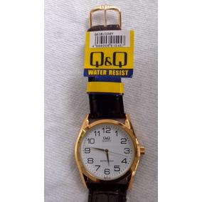 41bea4e916731 Reloj Qq Correa De Piel - Relojes en Mercado Libre México