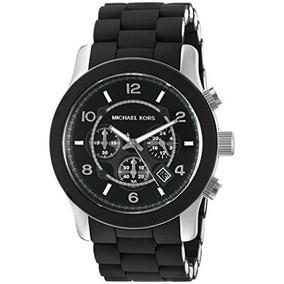 76e1960cd34 Relógio Michael Kors Mk8107 Preto Original Com Estojo E Nf - Joyas y ...