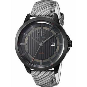 5446ca269b39 X Negro Correa Cuero Reloj Armani Exchange A - Relojes en Mercado ...