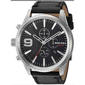 8b19e4ae3017 Reloj Diesel Correa Piel Negra - Relojes en Mercado Libre México
