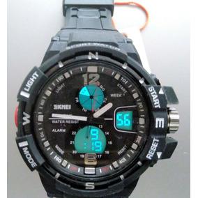 1997dcb23600 Reloj Militar Hombre Rectangulo Skimei - Reloj de Pulsera en Mercado ...