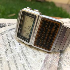 5ecf7341e4ea Reloj Casio Calculadora Vintage Data Bank Dbc -600