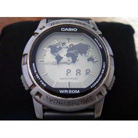 691b64c61d24 Reloj Casio Twincept Abx 68 - Joyas y Relojes en Mercado Libre México