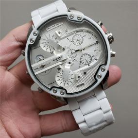 879740d7e4ca Diesel Dz1443 Reloj Men Acero Silicon Blanco   Envio Gratis - Reloj ...