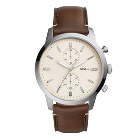 14eb53cbb00e Reloj Fossil Pulsera Cuero De Hombre - Reloj de Pulsera en Mercado ...