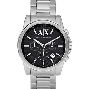 7bbe98cde6bd Reloj Armani Exchange Plata - Joyas y Relojes en Mercado Libre México