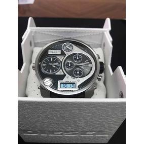 9301dca1f90f Reloj Diesel Dz7125 Oversize Analógico Digital Cuero Negro - Relojes ...