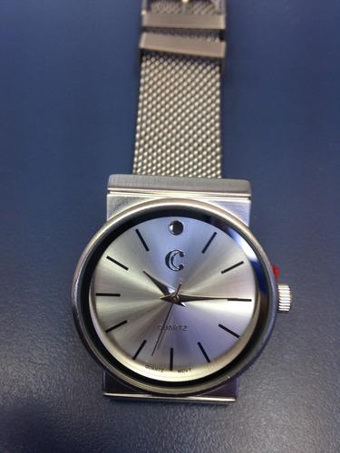 reloj pulsera acero