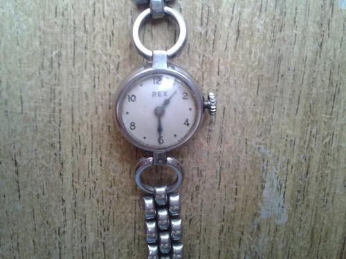 reloj pulsera, acero inox