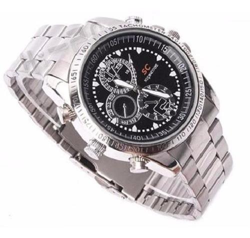 reloj pulsera cámara espía 8gb videos fotos 720p calidad