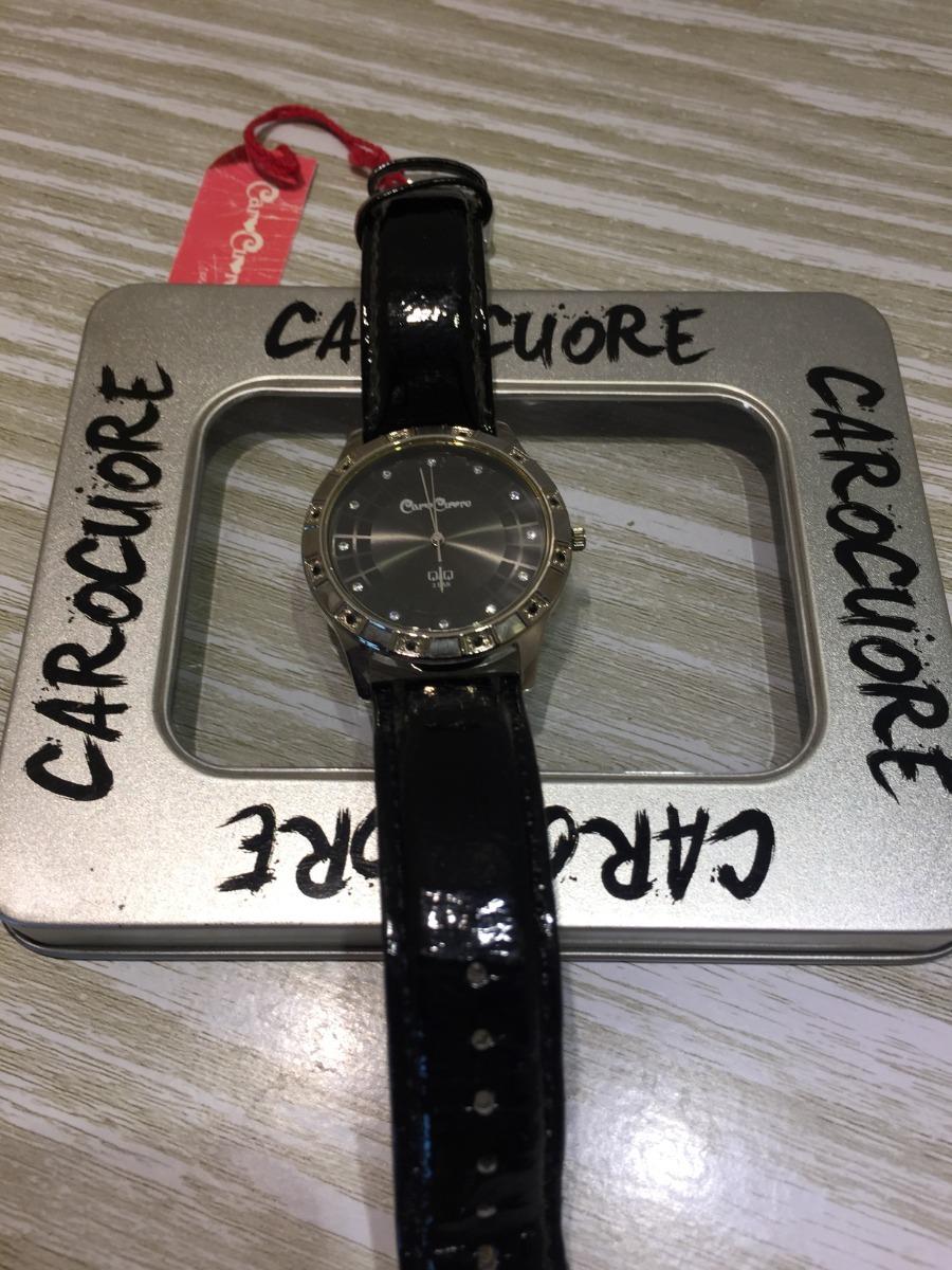 a2c14b59d378 Reloj Pulsera Caro Cuore Moda En Cuero -   1.100