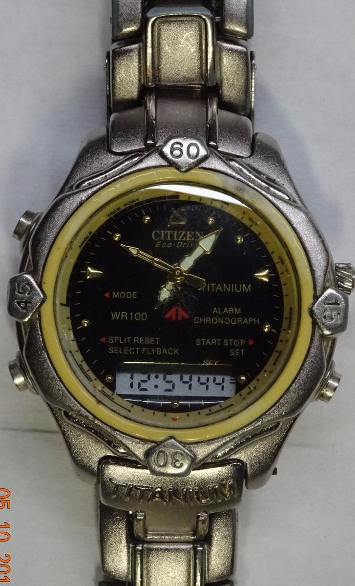 a52251d24d7d reloj pulsera citizen titanio eco drive. Cargando zoom.