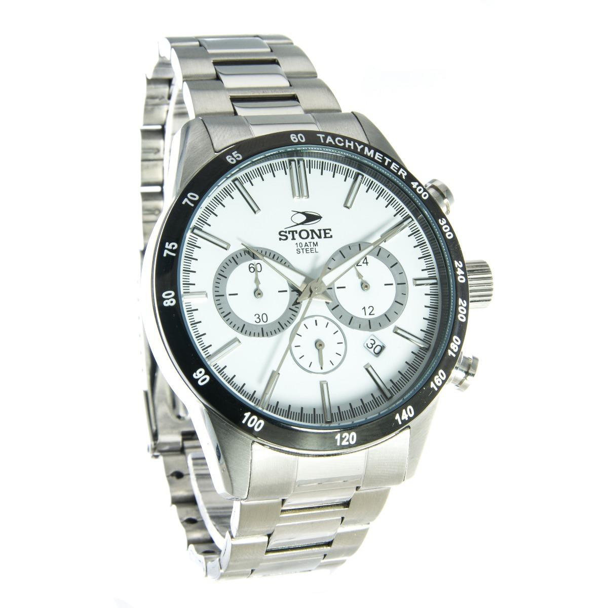 b3e76033516b Reloj Pulsera Cronografo Stone