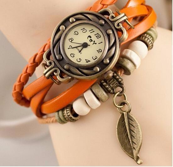 Reloj Pulsera Cuarzo Mujer Vintage Varios Colores - U S 5 7434a837c6ee