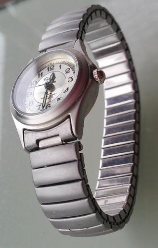 reloj pulsera dama malla elastizada ornet-tomo art-pompeya