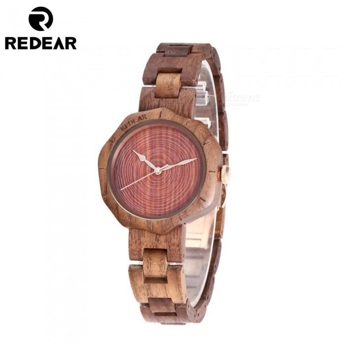f3da489560a5 Reloj Pulsera De Madera Para Mujer Redear 1644 + Envio -   3.452